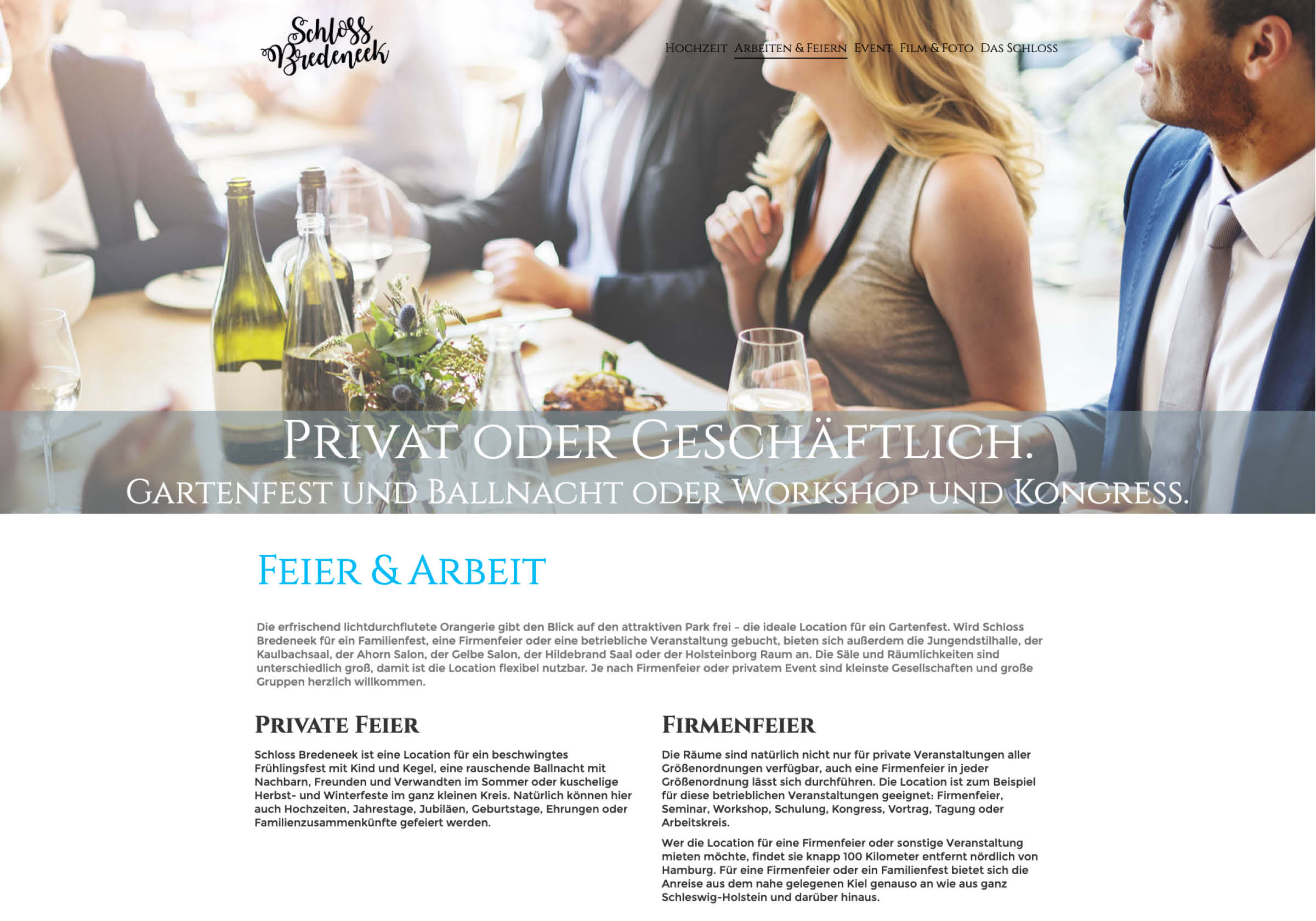 Website Design Schloss