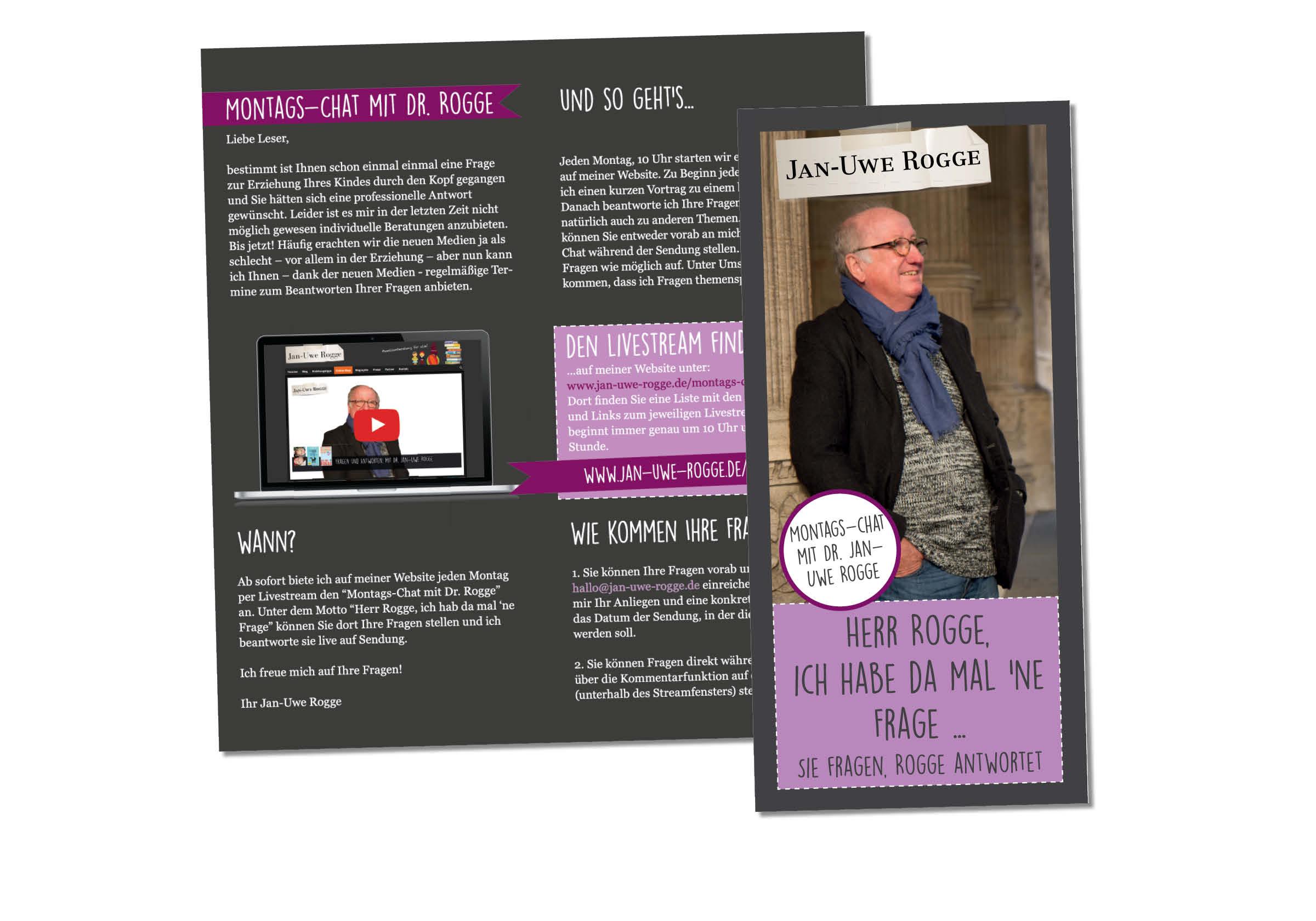 Brochure Design Print Rogge
